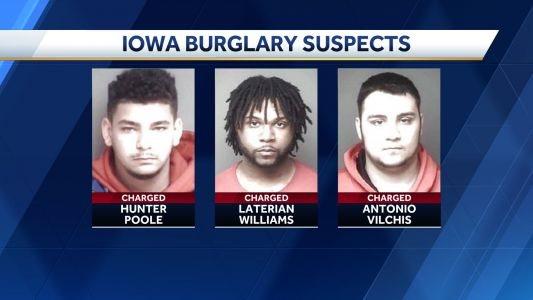Police: 3 men break into wrong home, confronted by armed homeowner in Iowa