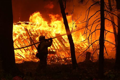 'This must be what hell's going to be': Inside the deadly California wildfire