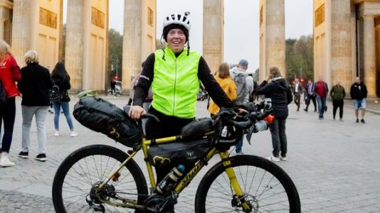 Jenny Graham Cycles Around The World In 125 Days, Shattering Record