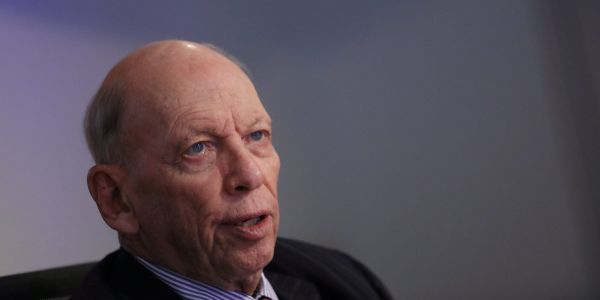 Billionaire investor Byron Wien says the stock market may be getting ahead of itself as the Dow passes 30,000 - but tells long-term investors not to worry