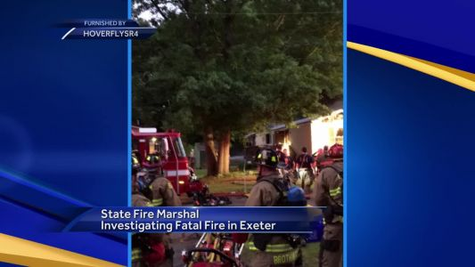 NH State Fire Marshal's office investigating fatal fire in Exeter