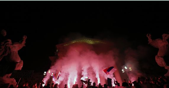 Thousands in Serbia protest for 11th week against populists