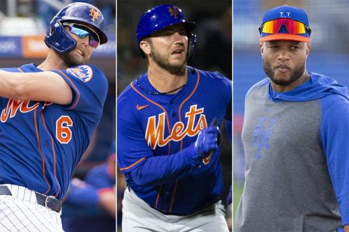 Mets' flexible lineup provides managing test for Luis Rojas
