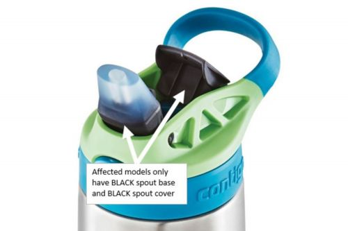 Contigo recalls 5.7 million replacement lids on kids' water bottles