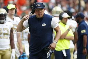 Sims looks to lead Ga Tech to another upset vs No. 14 UCF