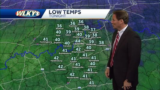Mild weather continues as rain chances increase
