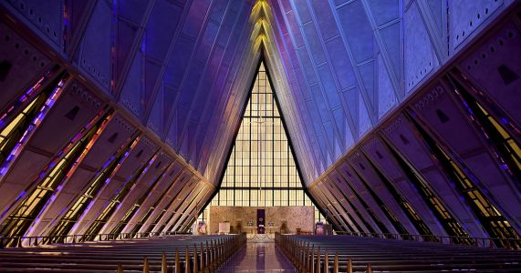 Landmark Air Force chapel suffering from leaks, corrosion