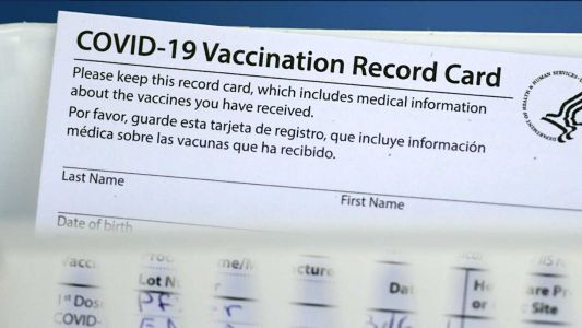 Electronic versions of vaccine cards coming soon, Gov. Newsom says