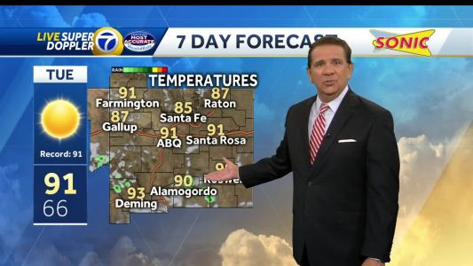 Record-heat will stick around for another day