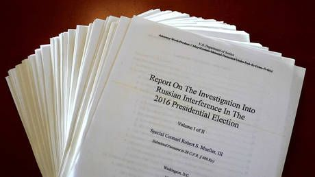 Mueller report 'poor quality' & 'not worth taxpayers' money' - Kremlin