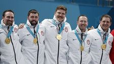 Olympics Snafu Sees U.S. Champion Curlers Receive The Wrong Medals