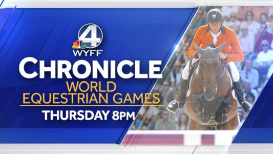 WYFF 4's Chronicle broadcasts live from the World Equestrian Games