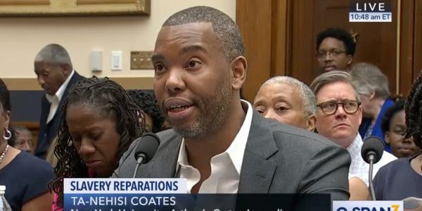 Ta-Nehisi Coates ripped into Mitch McConnell during congressional testimony where he made the case for reparations for the descendants of slaves