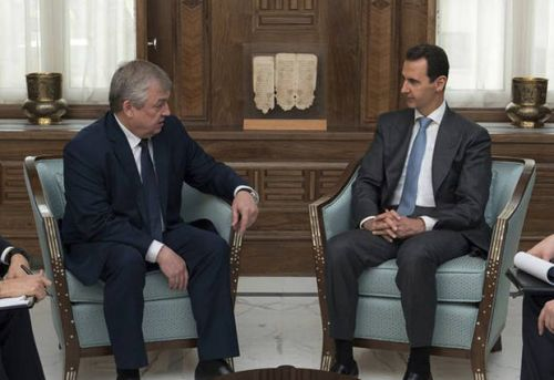 The Latest: US says Russia bears responsibility for Ghouta