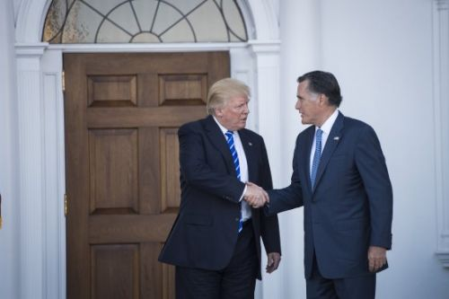 Trump Has Endorsed Mitt Romney. But Romney Once Called Trump a 'Fraud' and Trump Said Romney 'Choked'