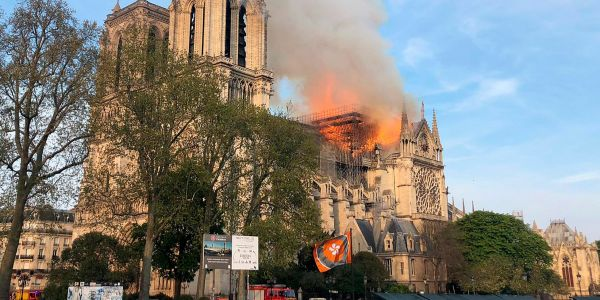 Before the Notre Dame Cathedral caught fire, it was undergoing renovations