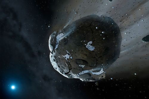 NASA is about to sling a spacecraft onto an asteroid