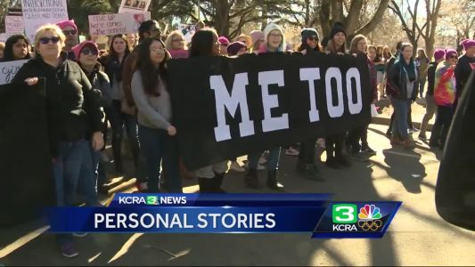 Friends & family come together at Women's March