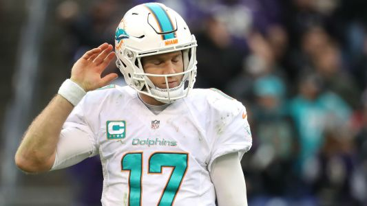 Ryan Tannehill injury update: Dolphins QB to start Sunday vs. Colts