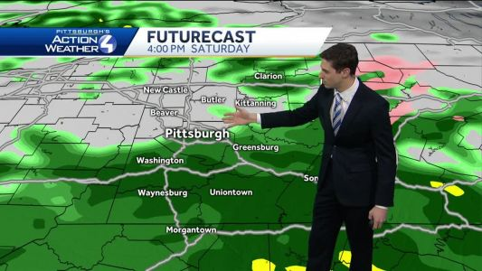 Mostly cloudy tonight; high wind watch for weekend