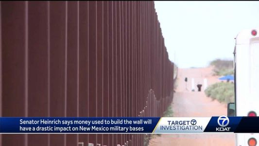Sen. Heinrich: Multiple New Mexico military bases could take huge hit if border wall moves forward