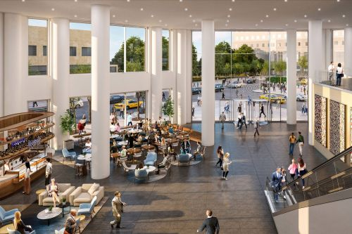 Former World Financial Center lobby to get redesign