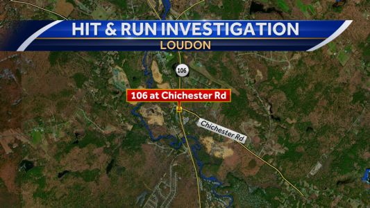 Loudon police looking for suspect in hit-and-run crash