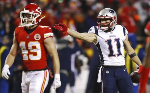 Photos: Patriots face Chiefs in AFC Championship Game