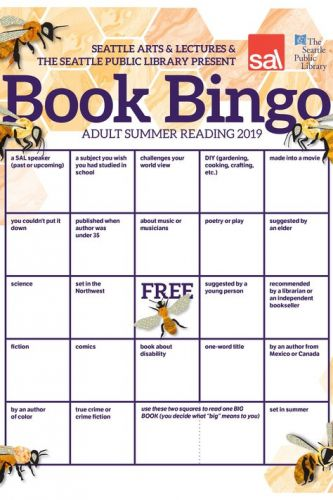 Summer reading 2019: Fill out this Book Bingo card