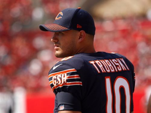 The rookie quarterback the Bears gave up a ton to draft is going to get a brutal introduction to the NFL