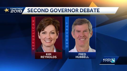 Iowa governor candidates debate tariffs, sexual harassment