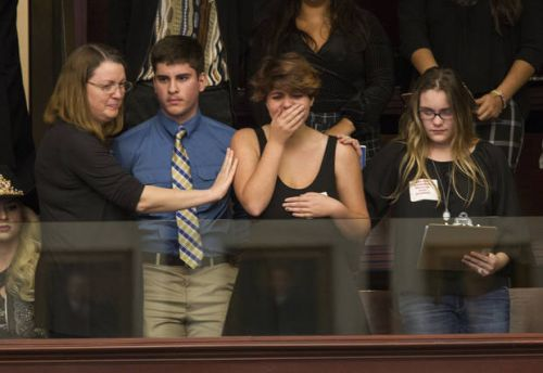 Time for action: Florida shooting survivors meet lawmakers