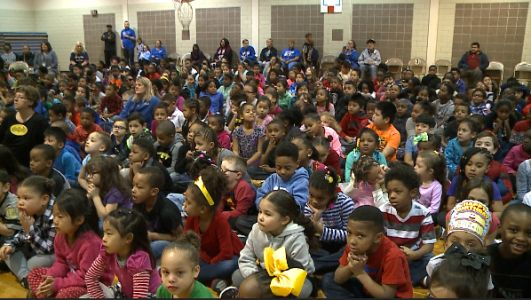 Central Park Elementary hosts Black History program