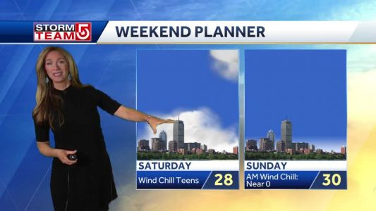 Video- Bitter Wind Chills With Weekend Cold Blast