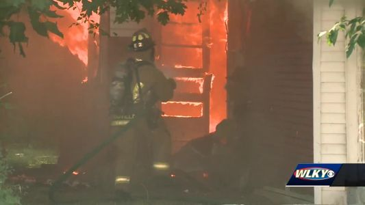No injuries reported in vacant house fire