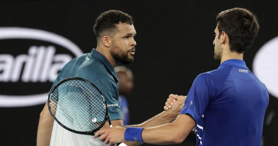 11 years later, Djokovic tops Tsonga again in Australia