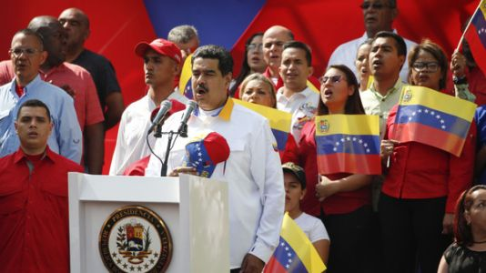 Venezuela's Maduro Faces Pressure From Much Of The World, Yet He Persists