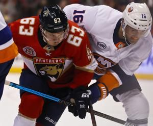 Barkov scores winner, Panthers beat Islanders 4-2
