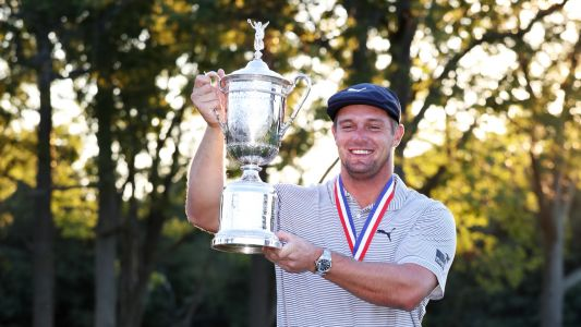 Bryson DeChambeau gets emotional surprise call from parents after winning 2020 US Open