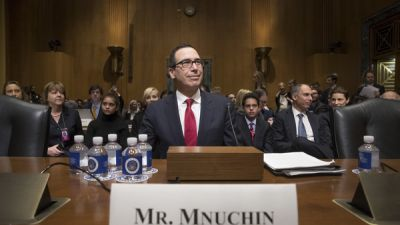 Trump Treasury Nominee Defends Profiting Off Foreclosure Crisis
