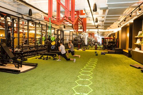 WeWork, the most valuable startup in New York City, just opened its first gym - and it looks gorgeous