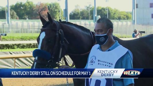 New Churchill Downs racetrack president says no plans to postpone Kentucky Derby again