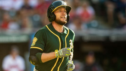 MLB wrap: Athletics pull even with Astros in AL West