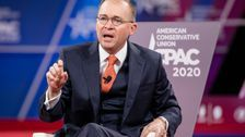 Mick Mulvaney Claims The Media Is Covering Coronavirus Only To 'Bring Down' Trump