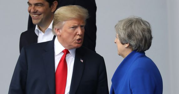 Trump upends NATO summit, demanding immediate spending increases or he will 'do his own thing'