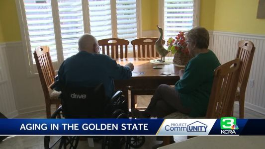 Retired firefighter hires caregiver to help with rare disease