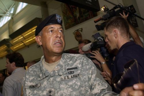 Retired general who led Katrina response tapped for immediate review of Capitol security