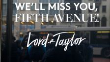 Lord & Taylor Is Latest Major Retailer To File For Bankruptcy Protection