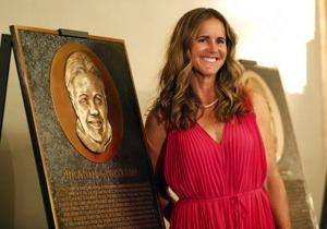 After social media outcry, hall of fame to redo soccer star Brandi Chastain's plaque