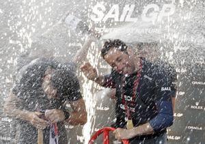 Ben Ainslie and Britain reign supreme in 1st SailGP race